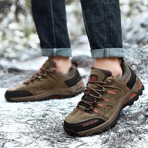 Image 5 - VESONAL Zapatillas deportivas de malla transpirables para hombre, calzado antideslizante para exteriores, para otoño e invierno, 2019
