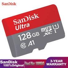 Sandisk Ultra Micro SD Carte Mémoire TF 128 256 64 32 GO Classe 10 Carte Mémoire Haute Vitesse Pour Téléphone uhs-i A1 Microsdxc Carte Mémoire