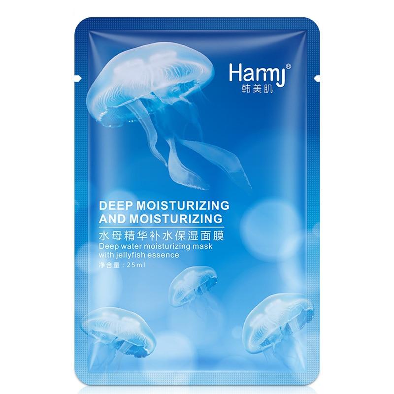 Jellyfish Hydrating Mask Shrink Pores Compact Moisturizing Silk Mask