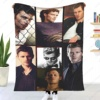 Tom Cruise Leisure Blankets Carpet Decoration Character Bed Cover Sofa Cover Leisure Wall Mount Single Tapestry Sofa Decke