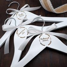 Spersonalizowany wieszak na ślub, drewniany wieszak grawerowany, wieszak druhny, wieszak na ubrania ślubne, wieszak dla nowożeńców, prezent dla druhny