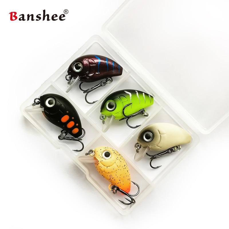 Banshee  Mini Crankbaits  sinking Wobbler 2
