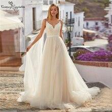 Свадебные платья в стиле бохо пляжные свадебные для женщин кружевные