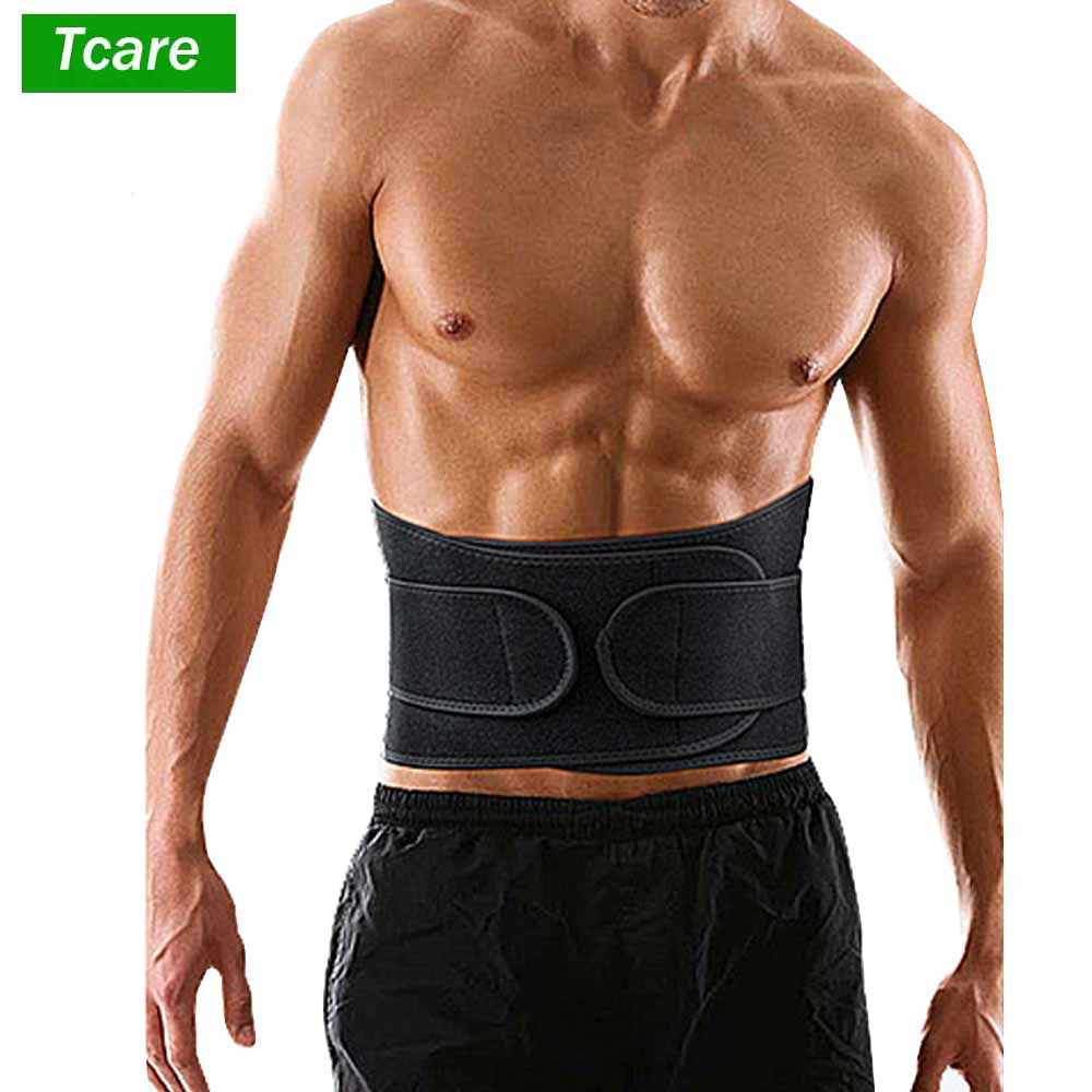 1Pcs Back Support Adjustable Lumbar Back Brace Lumbar Support Belt With Breathable Dual Adjustable Straps Lower Back Pain Relief