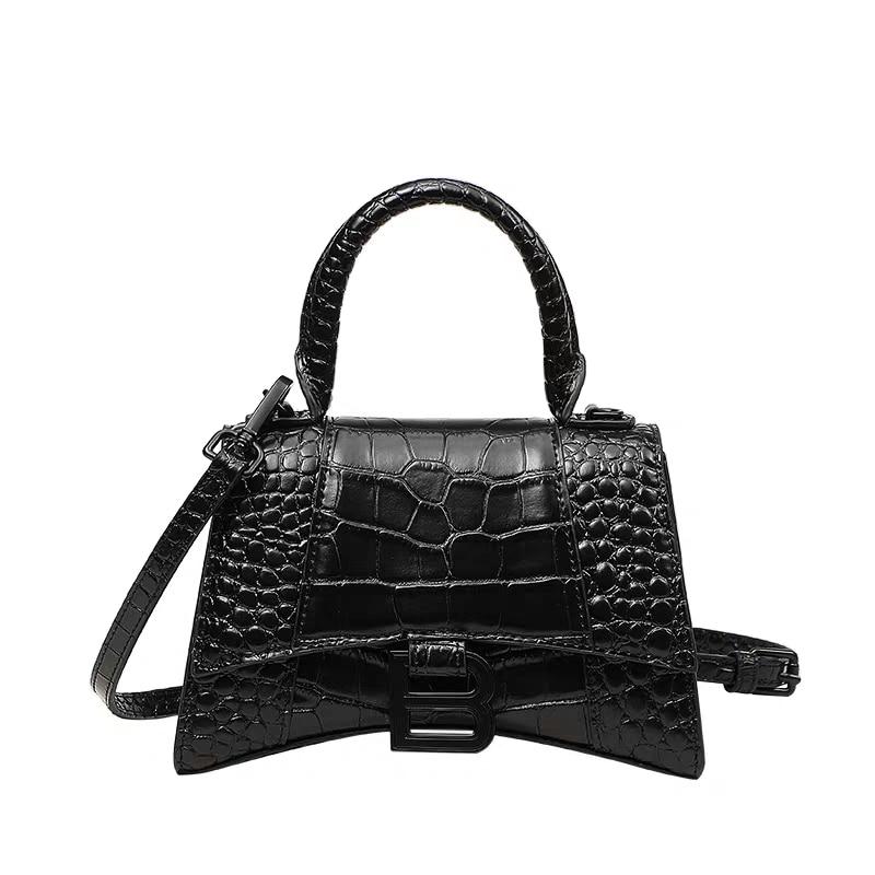 2020 NEW Women Crocodile Pattern Cowhide Bags Lady Genuine Leather Handbag  Party Shoulder Crossbody Tote Bag Handbags