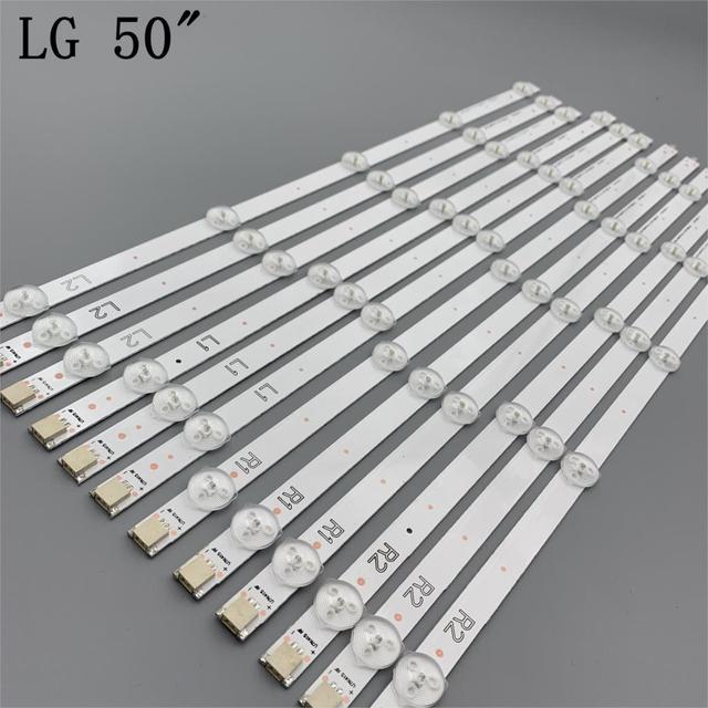 LED strip For 50LN5200 50L1350U E500i A0 50L4300U TC L50B6B 50L4353D LC500DUE SF R2 U2 50LA620S 50LN570V 50LN5100 6637L 0021A
