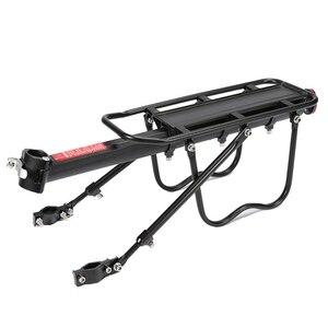 Стойка для велосипеда рама из алюминиевого сплава багажная задняя стойка багажник для велосипедов MTB велосипедная задняя полка с монтажным...