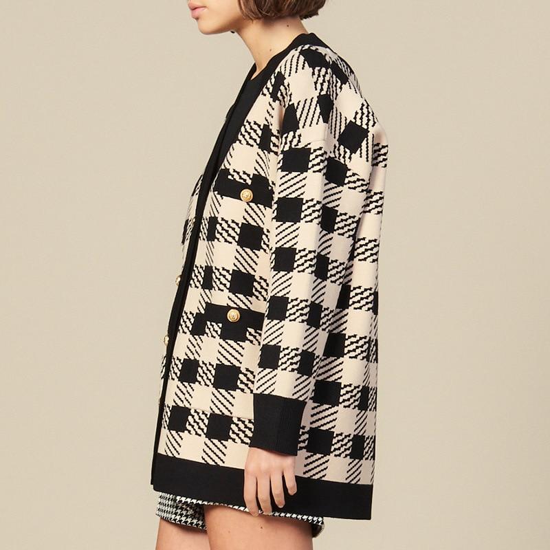 Dalang Wool Factory Processing Customizable WOMEN'S Cardigan Sweater 2019 Autumn New Style Sweater Sample Processing
