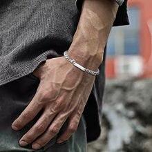 Vnox personalizar nome cubana pulseira para homem feminino, trigo miami curb links, nunca desaparecer pulseira de aço inoxidável, presente para ele ela