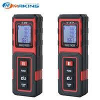 Medidor láser TECLASER Medidor láser medidor de distancia 40M Cinta Digital dispositivo de medición medidor de distancia telémetro Digital cinta métrica