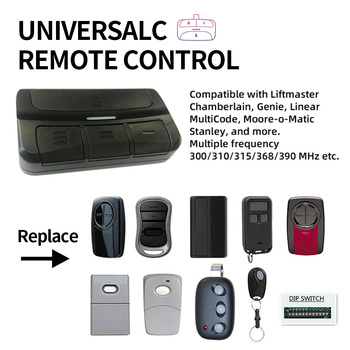 300-390mhz Garage Door Remote Control for Liftmaster Chamberlain 371LM, 373LM, 375LM, 375UT, 971LM, 973LM, 893MAX for liftmaster chamberlain tx4unis compatible remote control free shipping