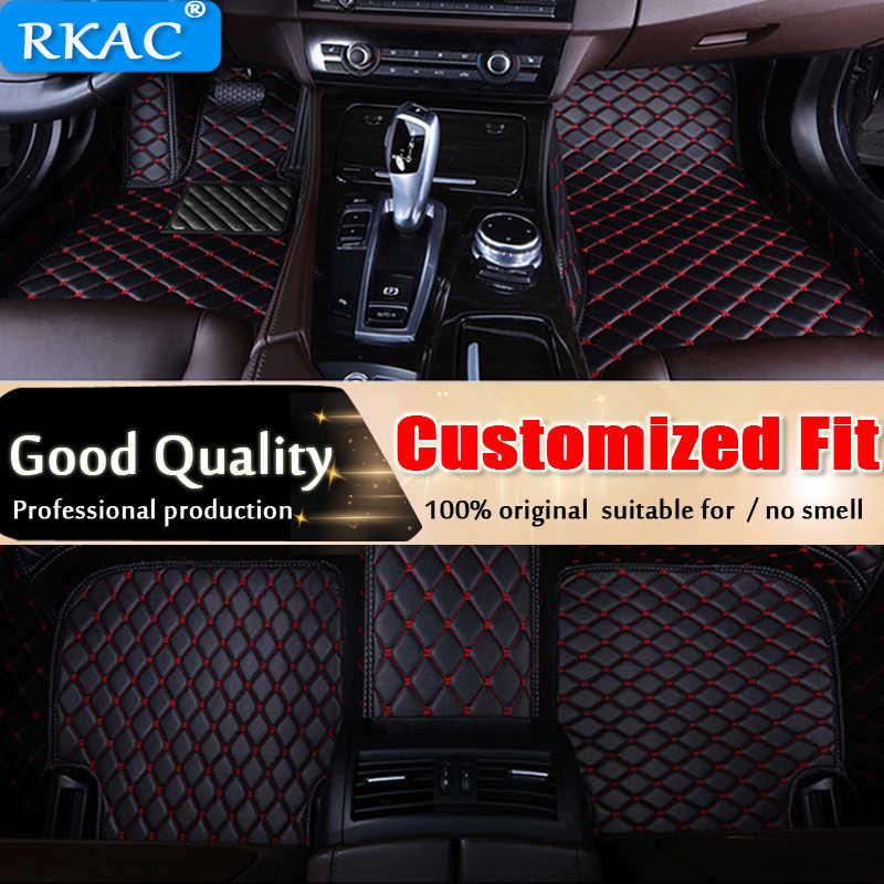 RKAC tappetini Auto per Citroen C5 C4 Croce Aria Picasso C2 C4L DS5 LS DS6 3D styling auto tappeto del pavimento liner