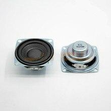 SOTAMIA 2 pièces 53mm Mini Audio Portable haut parleur bricolage stéréo musique son amplificateur haut parleur pilote 4 Ohm 5W Home cinéma haut parleur