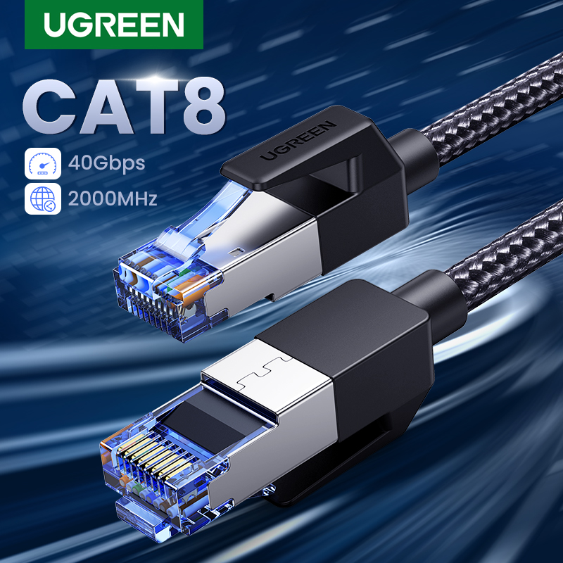 UGREEN Patch Cord rj45 CAT8 Ethernet Cable(China)