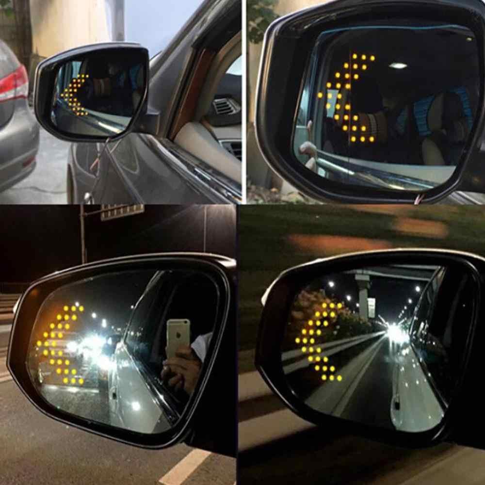 2 ピース/ロット 14 SMD LED 矢印パネル用の車のミラーインジケータターンシグナルライト車の Led バックミラーライト AJ