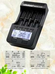 Liitokala Lii500 Battery-Charger Support Test-Charging/discharge 18650 AA Check for Nimh