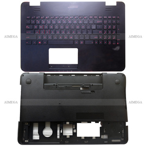 NEW Laptop Palmrest Upper Case US Backlit Keyboard/Bottom Case For ASUS N551 N551JK N551JA N551VW N551JW N551JB N551JM N551JQ