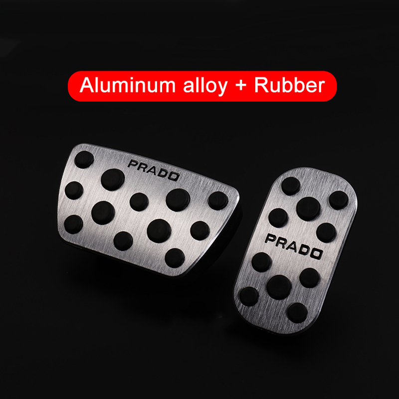 Aluminum Car Pedal Auto Foot Pedals For JUKE Automatic Transmission AT Car Foot Pedals 2010-2015