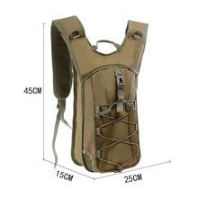 Waterproof running backpack Military Hydration Backpack Tactical Assault Hiking Outdoor Hunting Army Bag Cycling Backpacks цена 2017