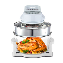 17L Air Fryer Convection Oven Genuine Home Multi-function Large Capacity Electric Fryer Oven German Oil-free Hot Air Furnace 220v large capacity oven 4500w commercial electric oven cake bread large pantry oven hot air circulation oven