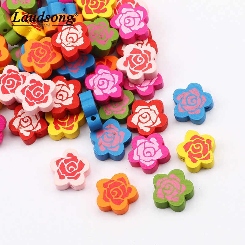 Gemischte Farben lose Perlen Zubehör für Spielzeug und Schmuck Dekoration