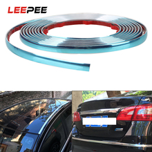 Tape Bumper-Protector Chrome-Strip Car-Rearview-Mirror Styling-Mouldings Side-Door Silver