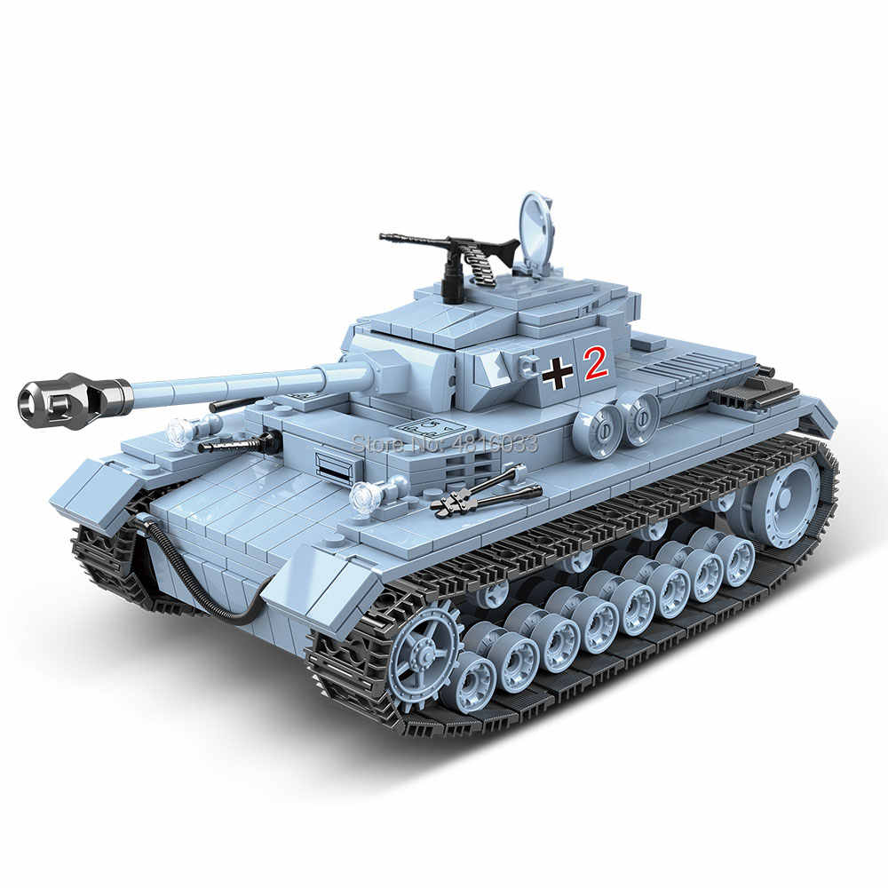 compatible legoingly Military World War II German Tank Vehicle ww2 Army Minifigs Figures Building Blocks Toys For Kids