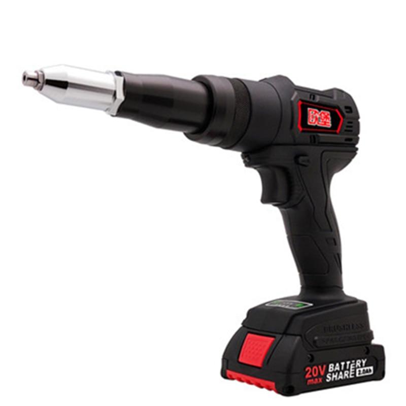 Electric Rivet Gun Industrial Grade Lithium Electric Rivet Grab Charging Rivet Gun Tool Blind Rivet Machine