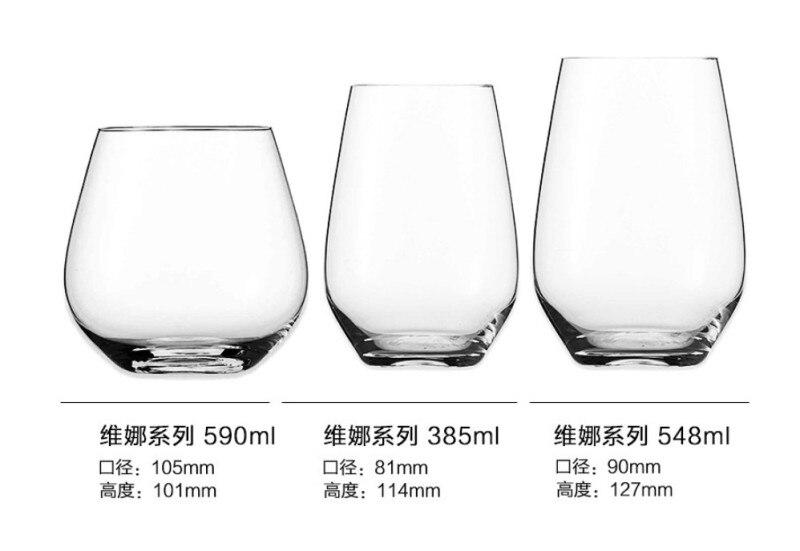 Verre прозрачный стакан бокал для вина бар аксессуары пивной коктейль с соком виски shot vinho шампанского tazas молочные чашки в видрио - Цвет: F 385ml