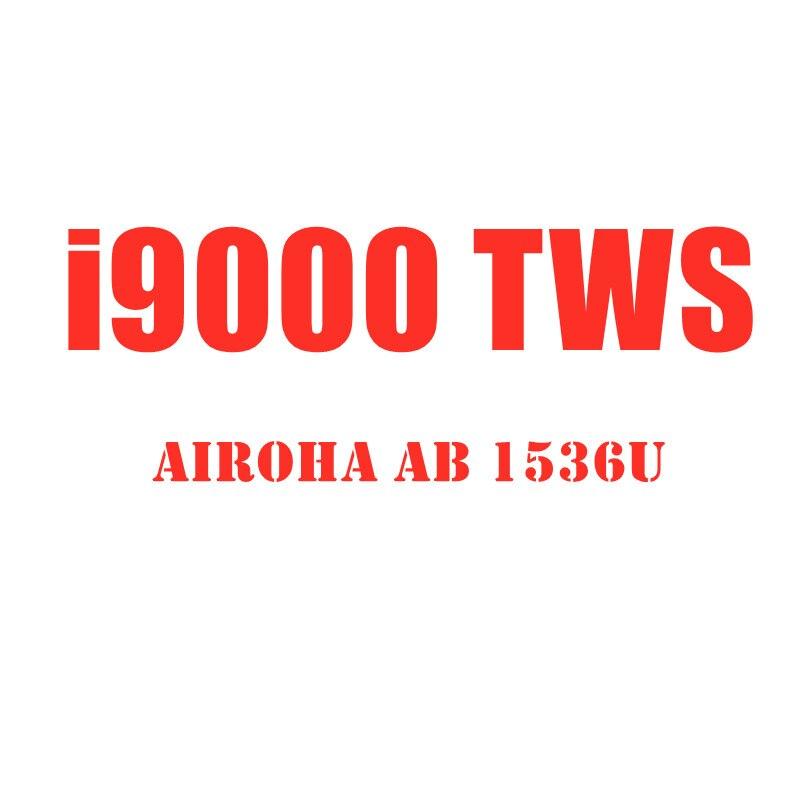 I9000 наушники-вкладыши tws Bluetooth Наушники Mini Air 2 супер бас Беспроводной наушники переименовать гарнитура в-ушной датчик лучше, чем i12 i200 i500