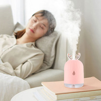 USB Mini Large Capacity Antler Humidifier Office Bedroom Aroma Car Air Purifier|Humidifiers| |  -