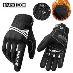 INBIKE Winter Motorcycle Gloves Shockproof Motorbike Gloves Touch Screen Breathable Men Guantes Moto Waterproof All Season
