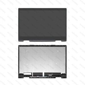 Image 1 - FHD LED 液晶ディスプレイ Assambly タッチスクリーンデジタイザ + ベゼル Hp 羨望 X360 15 bq051sa 15 bq003au 15 bq150na 15 bq051nr