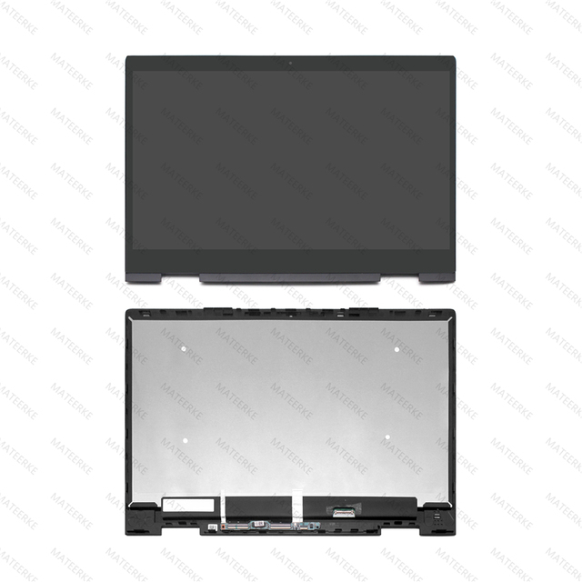 FHD LED Display LCD Assambly TouchScreen Digitizer + Bezel Per HP Envy X360 15 bq051sa 15 bq003au 15 bq150na 15 bq051nr