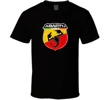 Fiat 500 Abarth Emblem Automobile Car Parts Cool Brand Logo T Shirt(China)