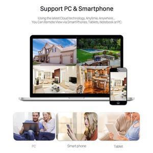 Image 5 - Besder áudio 1080p câmera de segurança cctv ip sem fio preto waterptoof onvif câmera de vigilância com slot para cartão sd icsee p2p ipc