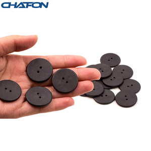 Image 3 - 100pcs High temperature resistant uhf rfid PPS laundry tag small with Alien H3 chip used for laundry management
