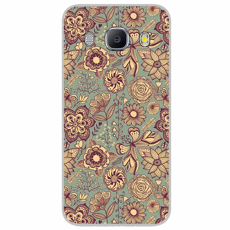 Mandala Henna mate fundas de silicona para Samsung galaxy J2 J4 Core J6 más J7 primer dúo Max caja del teléfono de TPU la contraportada del silicón del
