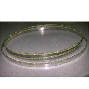 Image 3 - 37 59*1/8 inç paslanmaz çelik Bimetal testere bıçağı dikişsiz dairesel elmas şerit testere kesme bıçağı grafit cam taş