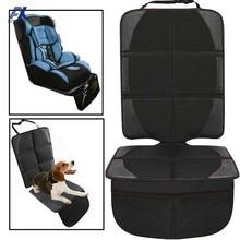 Capa de assento do carro criança crianças crianças assento de segurança protetor de assento do bebê almofada da esteira de proteção do assento do bebê auto pet sujeira kick mat organizador blk