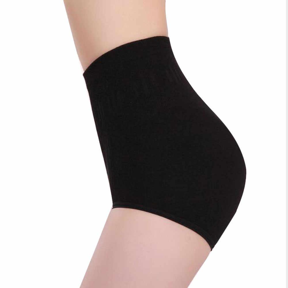 נשים גבוהה מותן בקרת תחתונים ללא תפר הרזיה תחתונים שחור גוף Shaper אבנט Shapewear שחור תחתוני נמתח מכנסיים