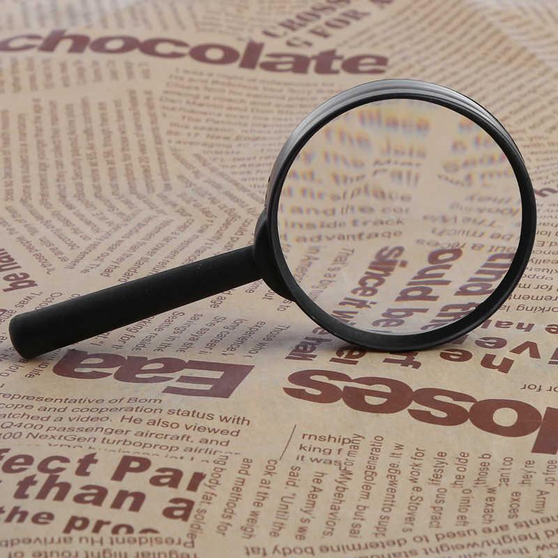 Büyüteç 60mm el düzenlenen okuma 5X büyüteç büyüteç okuma gözlüğü Lens