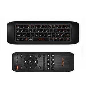 Viboton 2,4G Fly Air Mouse Raspberry Pi 3 Беспроводная клавиатура Пульт дистанционного управления обучающая клавиатура комбо для Android Smart Tv Box Comp