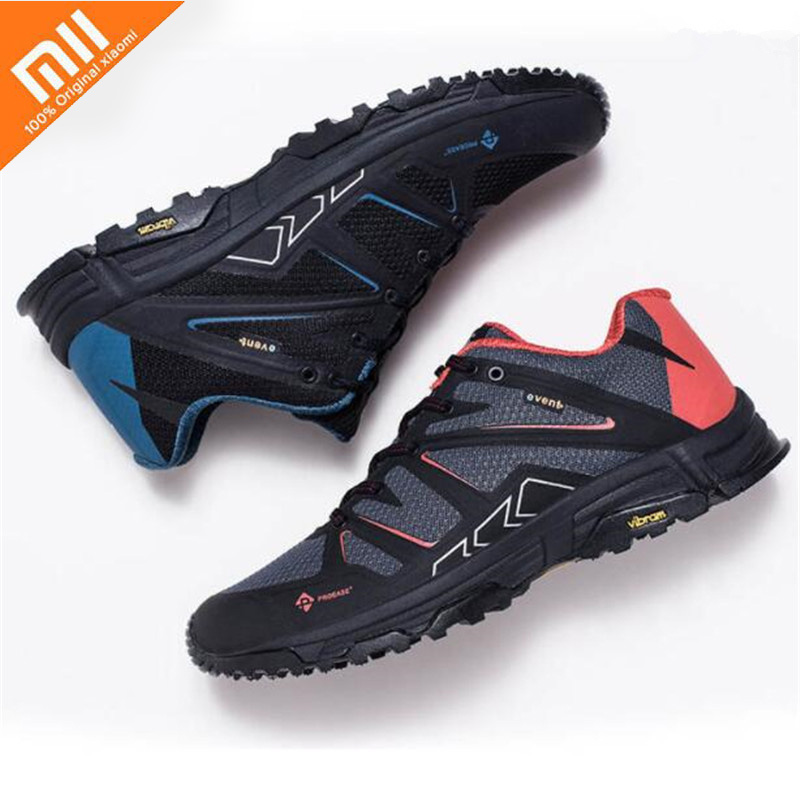 Xiaomi Mijia Proease Forest Waterproof V Bottom Running Outdoor Sneakers Shoes Anti-Slide-Shock Breathable For Man Woman 36-45