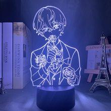 Lâmpada 3d místico messenger luz da noite led para o quarto do miúdo deco presente de aniversário místico mensageiro lâmpada