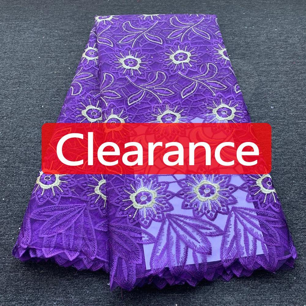 Liquidation vente africaine dentelle tissu de haute qualité broderie français Tulle dentelle tissu nigérian dentelle tissu pour robe de mariée