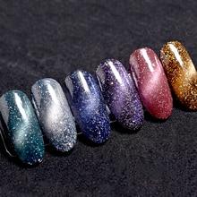 KADS, 7 мл, Звездный Гель-лак для ногтей с эффектом «кошачий глаз», Гель-лак для ногтей, Гель-лак, замачиваемый, для маникюра, УФ-гель для ногтей, лак, клей
