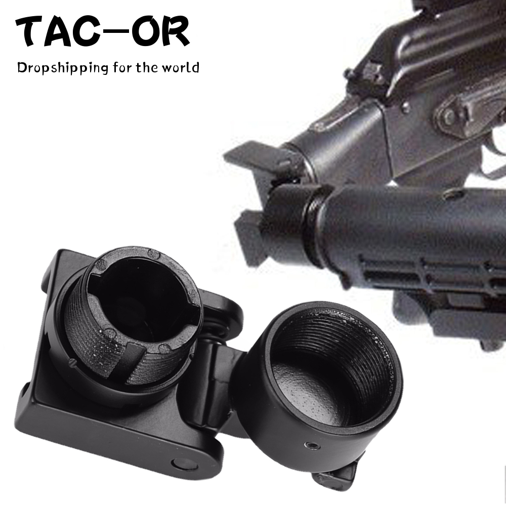 Tactical 7.62X39 Side Folding Buffers Butt Stock Adaptor Mount For Hunting Airsoft AK 47 / 74  AR15 AKs M4 A2 Rifle Accessory