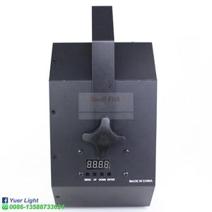 Image 4 - مصباح LED قرصي 120 واط شعاع ستروب ليزر UV 4IN1 متنوعة تأثير ضوء الصوت المنشط DMX512 حفلة DJ مرحلة الزفاف عيد الميلاد مصباح