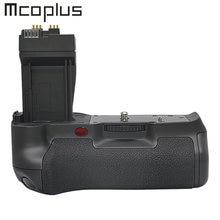 Mcoplus BG-550D aperto de bateria vertical para canon eos rebel t2i/550d, rebel t3i/600d, rebel t4i/650d, t5i/700d como BG-E8